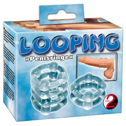 Looping penisringe