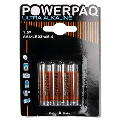 POWERPAQ  AAA Batterier