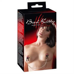 Bad kitty, Silicone nipple clamps