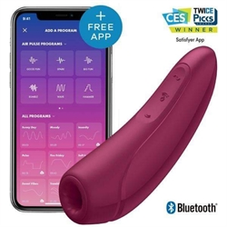 Satisfyer Curvy 1 - App-Styret Klitoris Stimulator